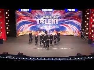 De danse anglais victorieux de l'mission britain got talent 2009